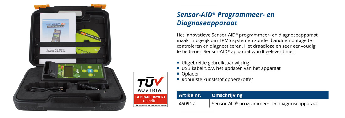 sensor aid diagnoseapparaat